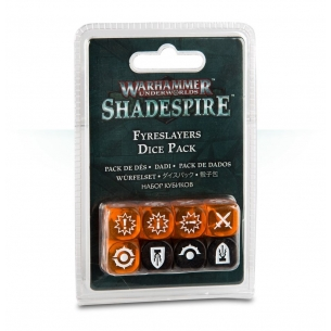Fireslayers Dice Pack - Set Dadi Shadespire  - Warhammer Underworlds 7,90 €