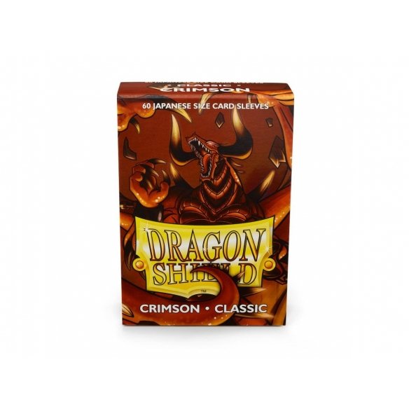 Dragon Shield - Classic Crimson - Small Japanese (60 bustine) Bustine Protettive