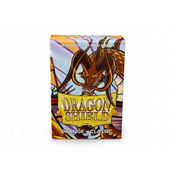 Dragon Shield - Classic Orange - Small Japanese (60 bustine) Bustine Protettive