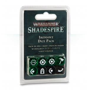 Ironjawz Dice Pack - Set Dadi Shadespire Warhammer Underworlds: Shadespire 7,90€