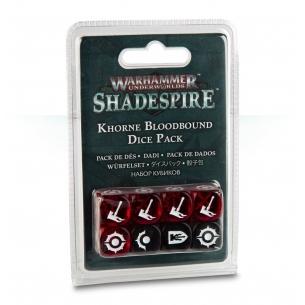 Khorne Bloodbound Dice Pack - Set Dadi Shadespire  - Warhammer Underworlds 7,90€