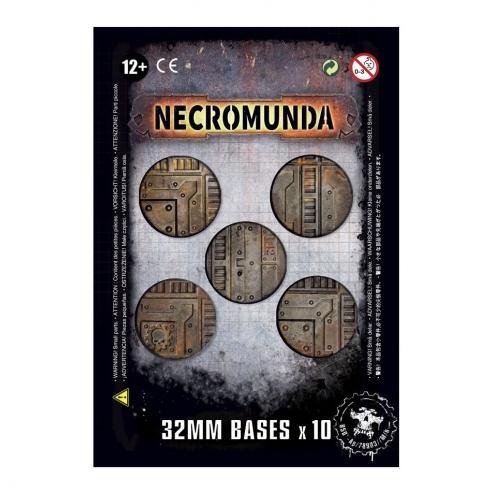 Necromunda - Basette Da 32mm Per Necromunda Accessori di Gioco