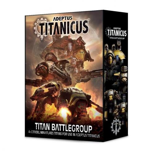 Adeptus Mechanicus - Titan Battlegroup Regolamenti e starter set