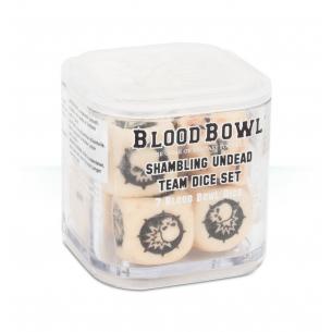 Blood Bowl Undead Team Dice Set Warhammer Blood Bowl 9,00€