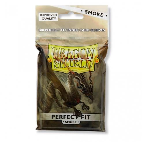 Dragon Shield - Smoke - Perfect Standard (Toploader) (100 bustine) Bustine Protettive