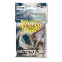 Dragon Shield Standard Perfect Fit Sleeves - Clear/Clear (100 bustine)