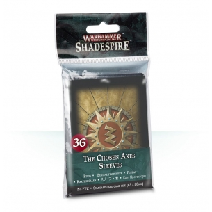 The Chosen Axes Sleeves - Bustine Protettive Shadespire  - Warhammer Underworlds 6,50 €