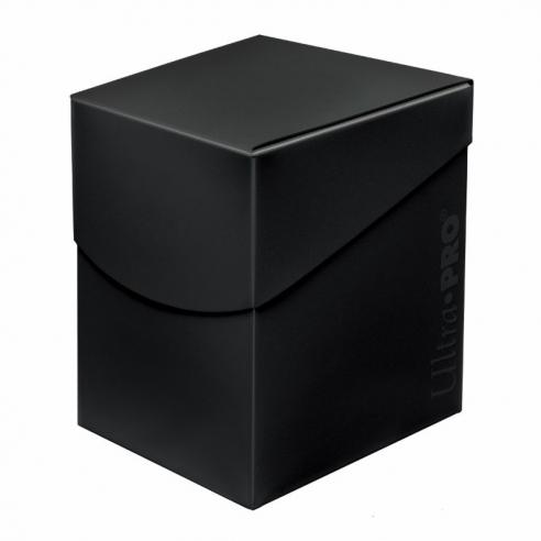 Ultra Pro - Deck Box - Eclipse Jet Black Deck Box