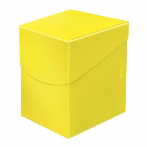 Ultra Pro - Deck Box - Eclipse Lemon Yellow Deck Box