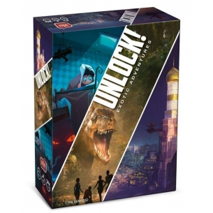 SPACE COWBOYS - UNLOCK! EXOTIC ADVENTURES - ITALIANO  - Asmodee 29,89 €