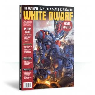 White Dwarf January 2019 (Inglese)  - Games Workshop 8,00€
