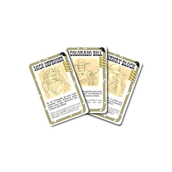 Bang! - The Valley Of Shadows (Espansione) Giochi di Carte