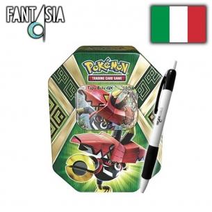 Pokemon Tin da Collezione Protettori delle Isole - Tapu Bulu GX + Penna Fantàsia! Fantàsia 29,99€