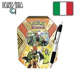 Pokemon Tin da Collezione Protettori delle Isole - Tapu Koko GX + Penna Fantàsia! Fantàsia 29,99€