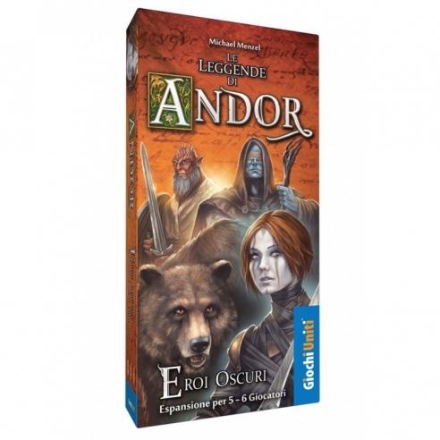 Le Leggende Di Andor - Eroi Oscuri (Espansione) Hardcore Games