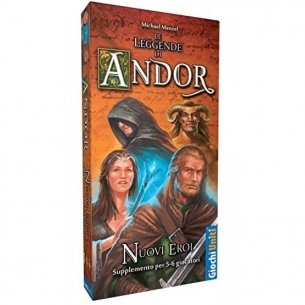 Le Leggende Di Andor - Nuovi Eroi (Espansione) Giochi per Esperti