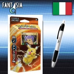 Pokemon XY Evoluzioni mazzo Potenza di Pikachu (IT) + Penna Fantasia  - Fantàsia 19,99€