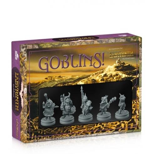 Labyrinth - Il Gioco del Film - Goblins! (Espansione) Giochi Semplici e Family Games
