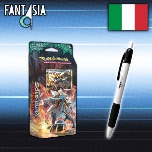 Mazzo Sole e Luna Guardiani Nascenti ACCIAIO SOLARE (Solgaleo) in ITALIANO + Penna Fantàsia!  - Fantàsia 19,99€