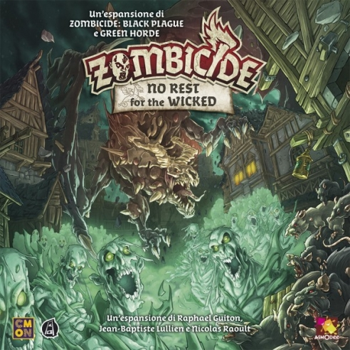 Zombicide - No Rest For The Wicked (Espansione) Hardcore Games
