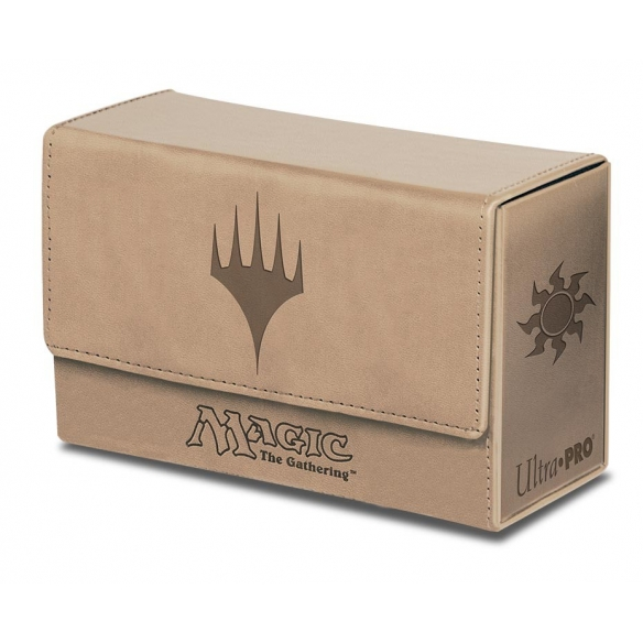 Ultra Pro - Dual Flip Box - White Mana Deck Box