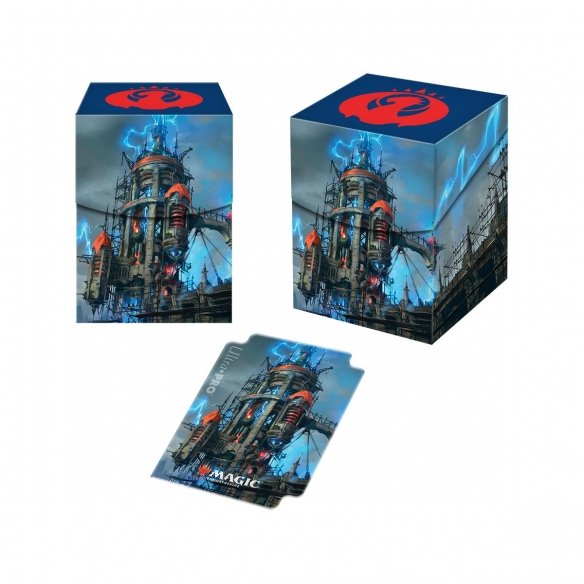 Ultra Pro - Deck Box - Guilds of Ravinica Izzet League Deck Box