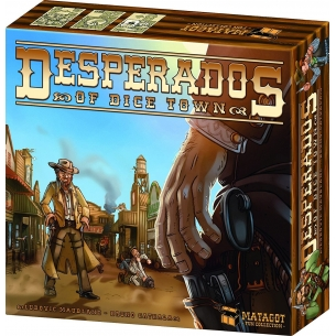 ASTERION - DESPERADOS OF DICE TOWN - ITALIANO  - Asterion 14,90 €