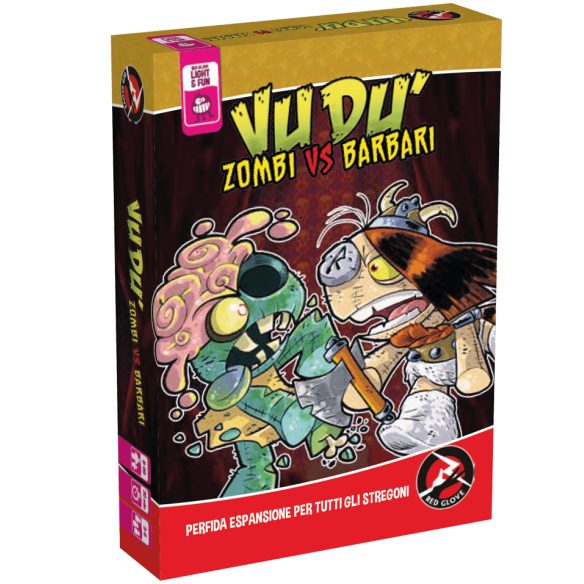 Vudù - Zombi Vs Barbari (Espansione) Party Games