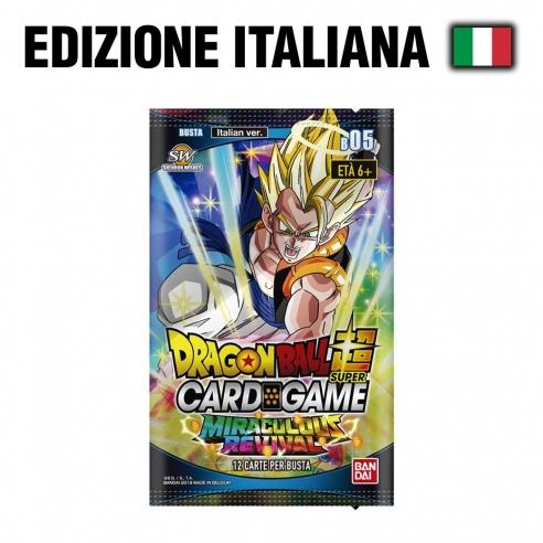 Miraculous Revival - Busta 12 Carte (ITA) Dragon Ball Super Card Game