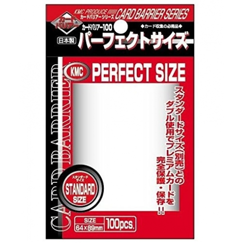 KMC - Clear - Perfect Standard (Toploader) (100 bustine) Bustine Protettive