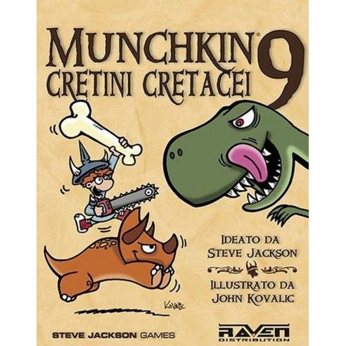 Munchkin 9 - Cretini Cretacei (Espansione) Party Games