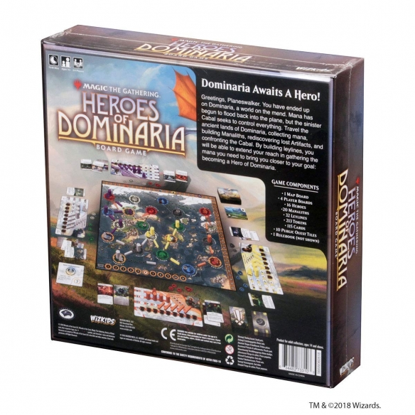 Heroes Of Dominaria - Magic The Gathering Board Game (ENG) Hardcore Games