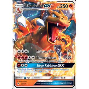Charizard GX - Carta Pokemon ITA - Ombre Infuocate 20/147  - Fantàsia 49,90€
