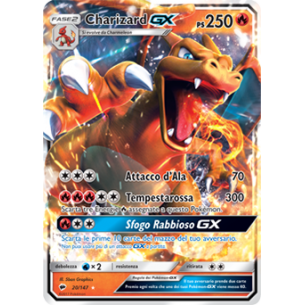 Charizard GX - Pokemon Card ITALIAN - Burning Shadows 20/147 Fantàsia 49,90 €
