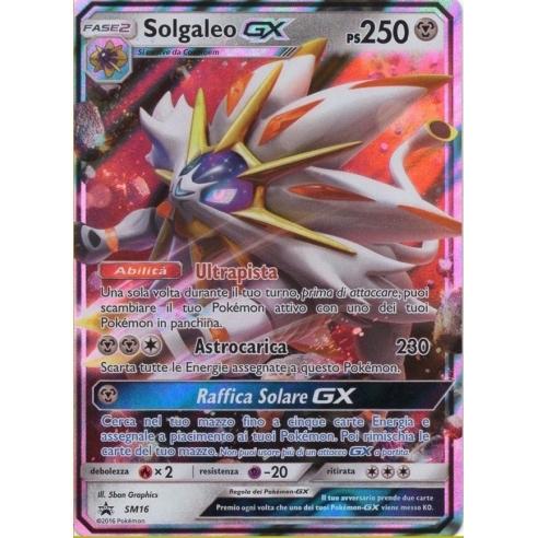 Solgaleo GX - Carta Pokemon ITA - SM16 Altri prodotti