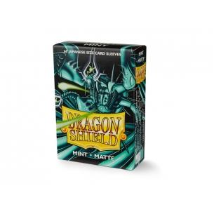 Dragon Shield Small Sleeves - Japanese Matte Mint (60 bustine)  - Dragon Shield 4,00€
