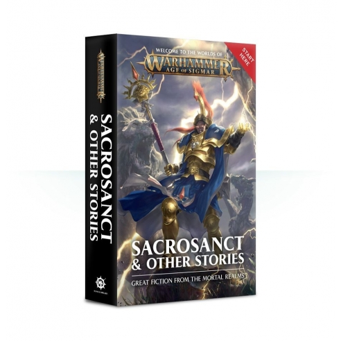 Sacrosanct & Other Stories - Libro Warhammer 40k (ENG) Black Library