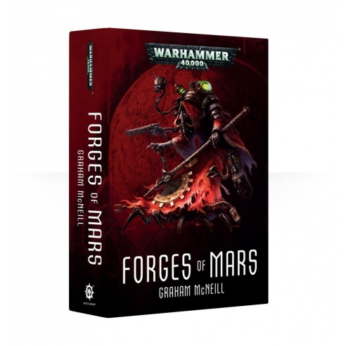 Forges Of Mars - Libro Romanzo Warhammer 40k (ENG) Black Library