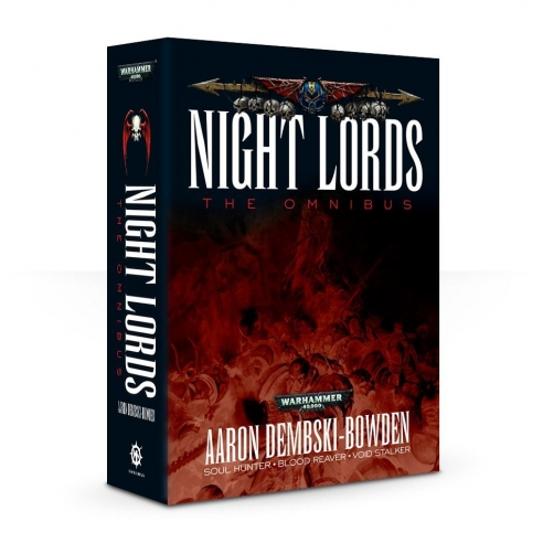 Night Lords The Omnibus - Libro Romanzo Warhammer 40k (ENG) Black Library