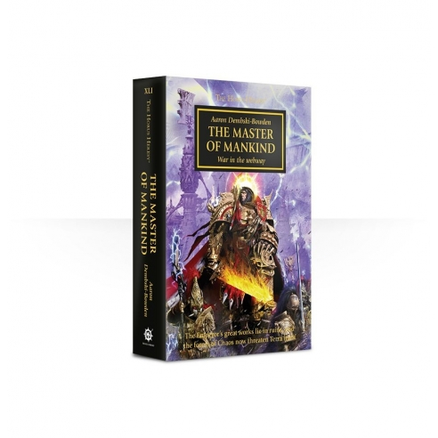 The Master Of Mankind - Libro Warhammer 40k (ENG) Black Library
