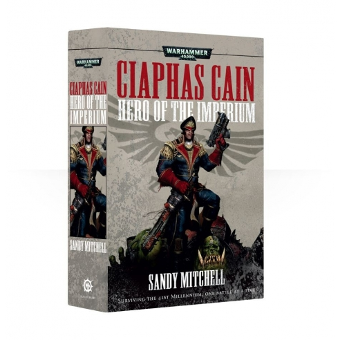 Caiphas Cain Hero Of The Imperium - Libro Warhammer 40k (ENG) Black Library