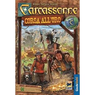 GIOCHI UNITI - CARCASSONNE CORSA ALL'ORO - ITALIANO Giochi Uniti 28,90€