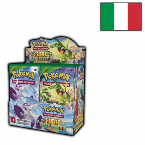 Pokémon - Furie Volanti - Display 36 Buste (it) Box di Espansione