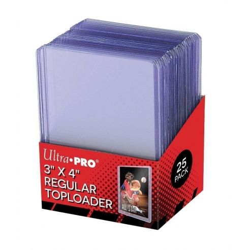 Ultra Pro - Regular Toploader (25 pezzi) Bustine Protettive