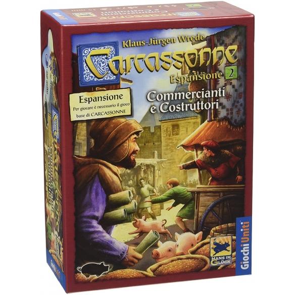 Carcassonne - Commercianti E Costruttori (Espansione) Grandi Classici