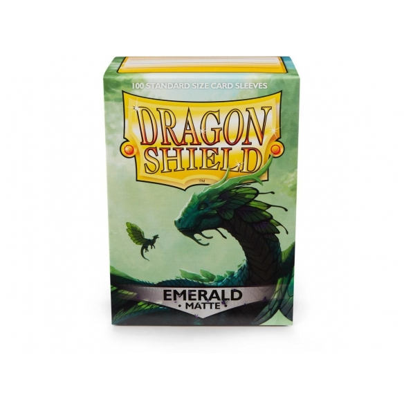 Dragon Shield - Matte Emerald - Standard (100 bustine) Bustine Protettive