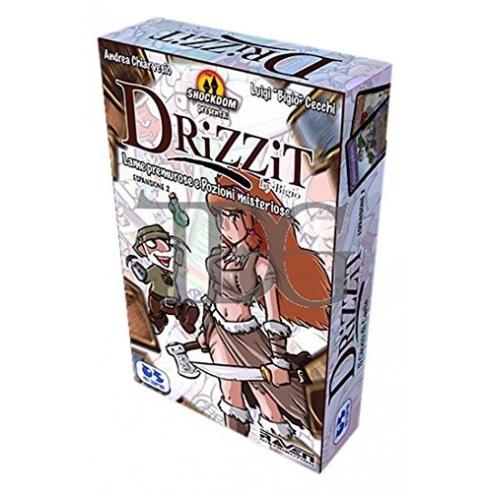 Drizzit - Lame Premurose e Pozioni Misteriose (Espansione) Giochi di Carte