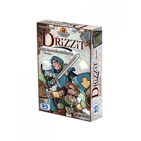 Drizzit - Draghi Spose e Coccole Estreme (Espansione) Giochi di Carte