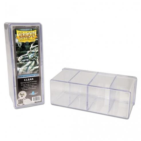Dragon Shield - Box 4 scomparti - Clear Deck Box