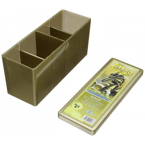 Dragon Shield - Box 4 scomparti - Gold Deck Box